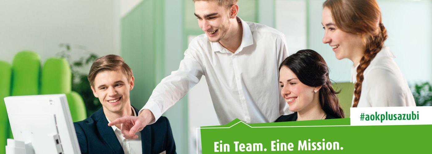 AOK PLUS - Die Gesundheitskasse für Sachsen und Thüringen.
